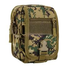Tactical Military Molle Utility Tool Shoulder Sling Bag Outdoor Backpack Pouch