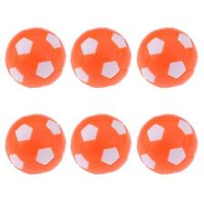 6 Pieces Foosball Table Football Table Soccer Replacement Balls 36mm