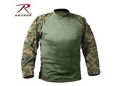 Woodland Forest Hunting Digital Camo FR NYCO Army Military Combat Tactical Shirt