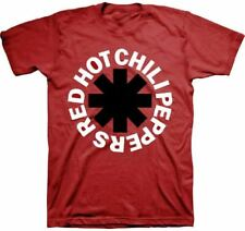 Red Hot Chili Peppers Logo T-shirt - Red Hot Chili Peppers Asterisk Logo | Men's