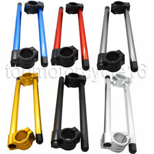 FXCNC Clip Ons Fork Handle Bars For 39mm Normal Fork Head Clip Ons Handlebars