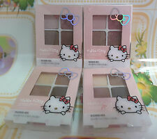 HELLO KITTY CHARMING DAZZLE EYE SHADOW 2 GROUP SETS OF COLOR EARTH TONE SHADE