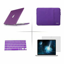 Screen protector keyboard cover hard case sleeve bag For Apple macbook Air Pro