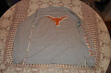 Texas Longhorns UT Long SleeveYouth T Shirt NCAA New Without Tags Size M