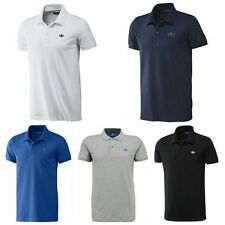 ADIDAS ORIGINALS MENS TREFOIL POLO T-SHIRTS T SHIRT TEE TOP