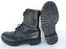 BRITISH ARMY BLACK ASSAULT COMBAT BOOTS - GRADE 1 - CADETS - VARIOUS SIZES