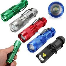 3500lm CREE Q5 LED Mini Zoomable Flashlight Torch Lamp Light 14500 UP