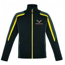 CORVETTE C7R RACING COLOR BLOCK JACKETS BLACK/YELLOW  BUDS CHEVROLET ST MARYS