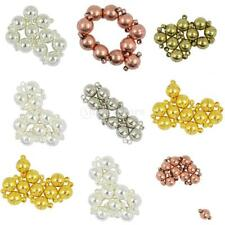 10 Set Round Two Parts Magnetic Clasps DIY Necklace Bracelet Connector Findings