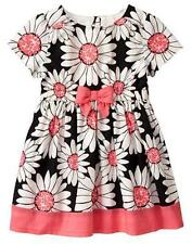 NWT Gymboree Kitty in Pink Daisy Dress 12 18 24M 2t,3T,4T,5T  Toddler Girls