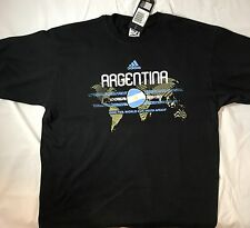 South Africa 2010 FIFA World Cup Argentina National Soccer T-shirt by adidas