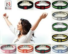 Dr-ion Negative Ion Bracelet Ions Clasp Wristband Resizable Energy Power Health