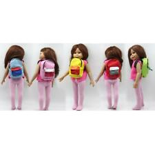 MagiDeal Dolls Schoolbag Mini Backpack Dress up for 18 inch American Girl Doll