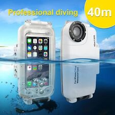 Waterproof 40m Underwater Diving Housing Photo Case Cover for iPhone6 6S 7 Plus