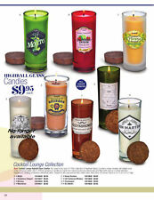 COCKTAIL LOUNGE COLLECTION ~ Highball Candles - Your choice of 8 scents