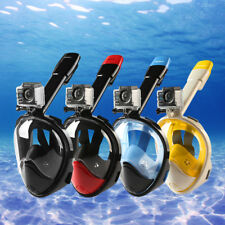 NEOpine Full Face Snorkeling Mask Scuba Diving Swimming Snorkel Set Goggles New