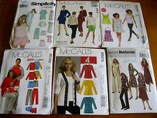 PJ Tunic Top Dress pants Misses uncut sewing pattern sizes Xsm Sml Med you Pick