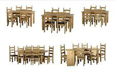 Seconique Corona Dining Tables, Dining Sets, Chairs Benches - Solid Mexican Pine