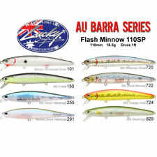 Lucky Craft Barra Series Flash Minnow AU Barra 110SP Hardbody Fishing Lure Jacks
