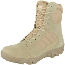 Mil-Com Recon Side Zip Boots Mens Tactical Army Patrol Security Footwear Desert
