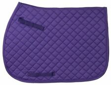 EquiRoyal Quilted Square English Saddle Pad