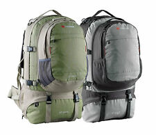 Caribee Jet Pack 75L Travel Backpack with Daypack - Mantis Green or BLACK