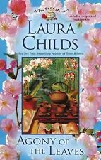 A Tea Shop Mystery: Agony of the Leaves 13 by Laura Childs HC DJ 1st Edition