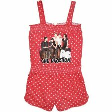 One Direction Red Polka Dot Girls Playsuit - SALE