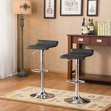 Roundhill Contemporary Chrome Air Lift Adjustable Swivel Stools, Set of 2,...