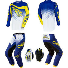 O'Neal Element Blue motocross MX gear - Jersey Pants Gloves Kids / Youth Combo