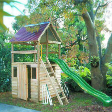 The Castle Cubby House and Fort Combination