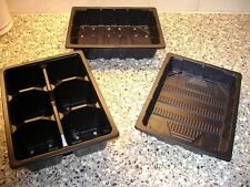 5 TO 50  SETS OF HALF TRAYS + 6 CELL TRAY + HALF TRAY WITH NO HOLES