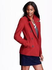 OLD NAVY WOMEN WOOL BLEND PEACOATS PEACOAT COAT JACKET RED XL EXTRA LARGE