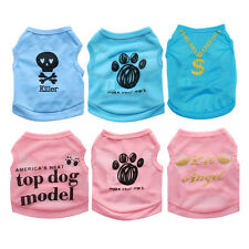 Small Teacup Dog Clothes Pet Puppy Clothing T Shirt Vest for Chihuahua Schnauzer