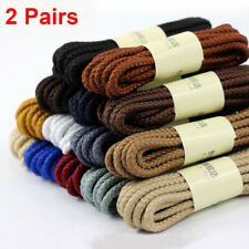 Strong Round Boot Laces Walking Hiking Boot Laces Bootlaces Sneaker Shoelaces