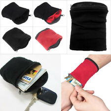 1PC Wrist Wallet Pouch Band Wristbands Cycling Safe Sport Wallet Accessiories
