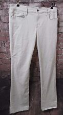 JOES Pennie White Denim Low-Rise Skinny Fit SEXY Bootcut Jeans SZ 30 NWT! $158*