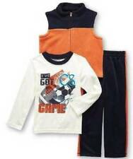NWT-Boys 3 Pc Sports Football Ive Got Game Vest, Shirt & Pants-24 mths 2T 3T 4T
