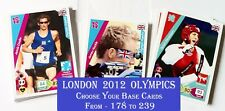 Choose Adrenalyn XL LONDON 2012 OLYMPIC BASE Cards From: 178 to 239 PANINI