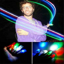 5~100x LED Finger Lights Lamps Party Laser Finger NEW Light Torch Glow Ring