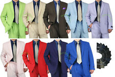 PROMOTION! Sharp 2pc Men 2B. Dress Suit Variety Colors Size 36-48 tb03