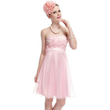US Short Strapless Bridesmaid Party Dress Cocktail Party Dress 03979 Ever-pretty