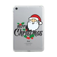 Christmas Soft Case Cover Pattern Back Cover for Al Apple iPad 2017 Air Pro Mini