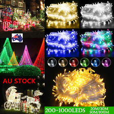 20-100M LED Fairy String Light Waterproof Xmas Wedding Party Garden Lamp AU Plug