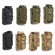 Airsoft Tactical MOLLE Magazine Pouch Double Rifle & Pistol Mag Holster Ammo Bag