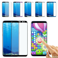 For Samsung Galaxy Note 8 S8 Full Cover 9H Screen Protector Tempered Glass Film