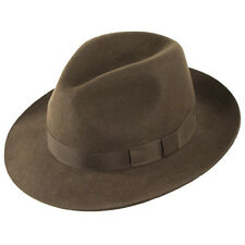 Christys' London Hats Chepstow Trilby - Brown