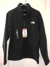 The North Face Mens Gordon Lyons 1/4 Zip Pullover NWT TNF Black Heather MSRP $80