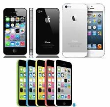 "Apple iPhone 5C 5S 5 4S-8GB 32GB 16GB 64GB GSM ""Factory Unlocked"" Smartphone"