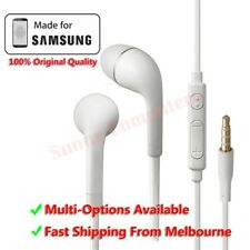 Handsfree Headphone Earphone With Remote Mic For Samsung Galaxy Note 5 4 3 2 AU